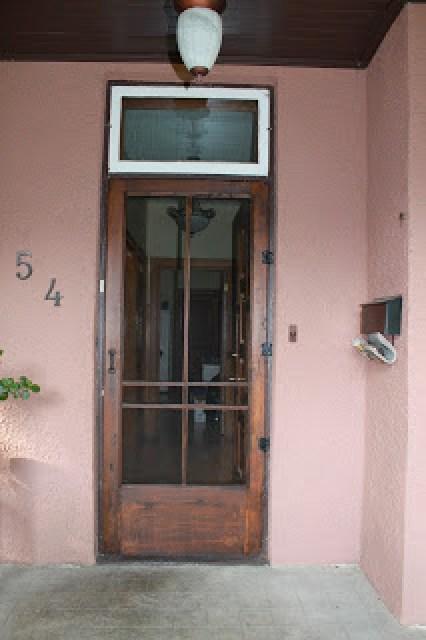 vintage wood screen door