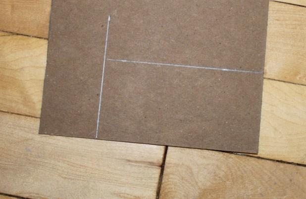 thin cardboard