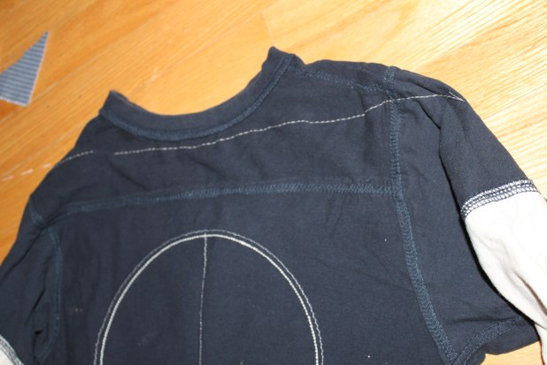 stitched top