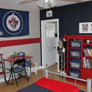 hockey theme room