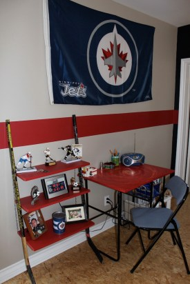 hockey theme room
