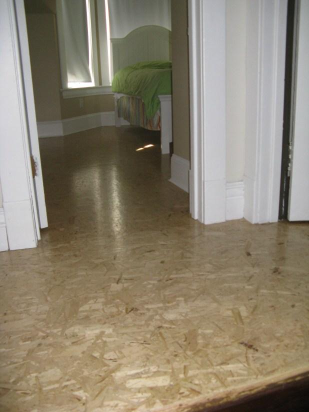 OSB floors