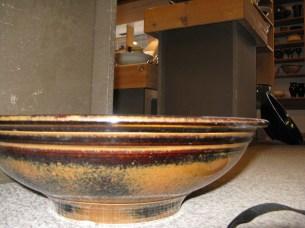 pottery sink