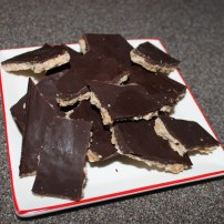 chocolate coconut bark