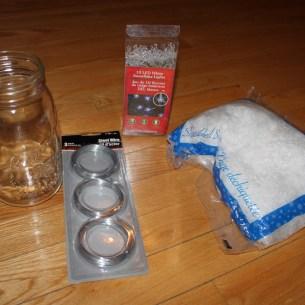 mason jar project supplies