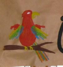 handprint parrot