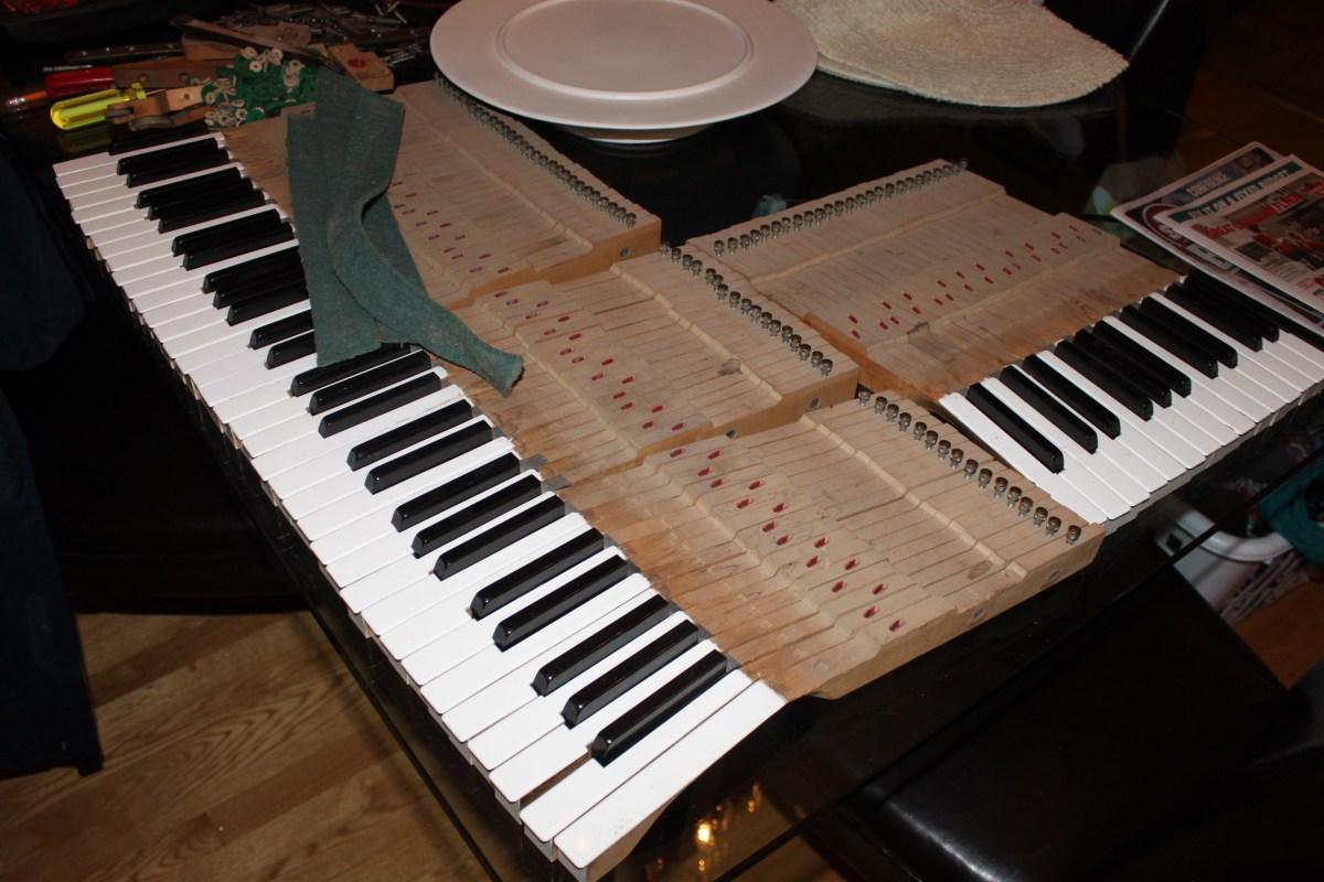 piano demolition