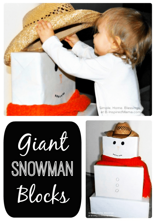 indoor snowman ideas
