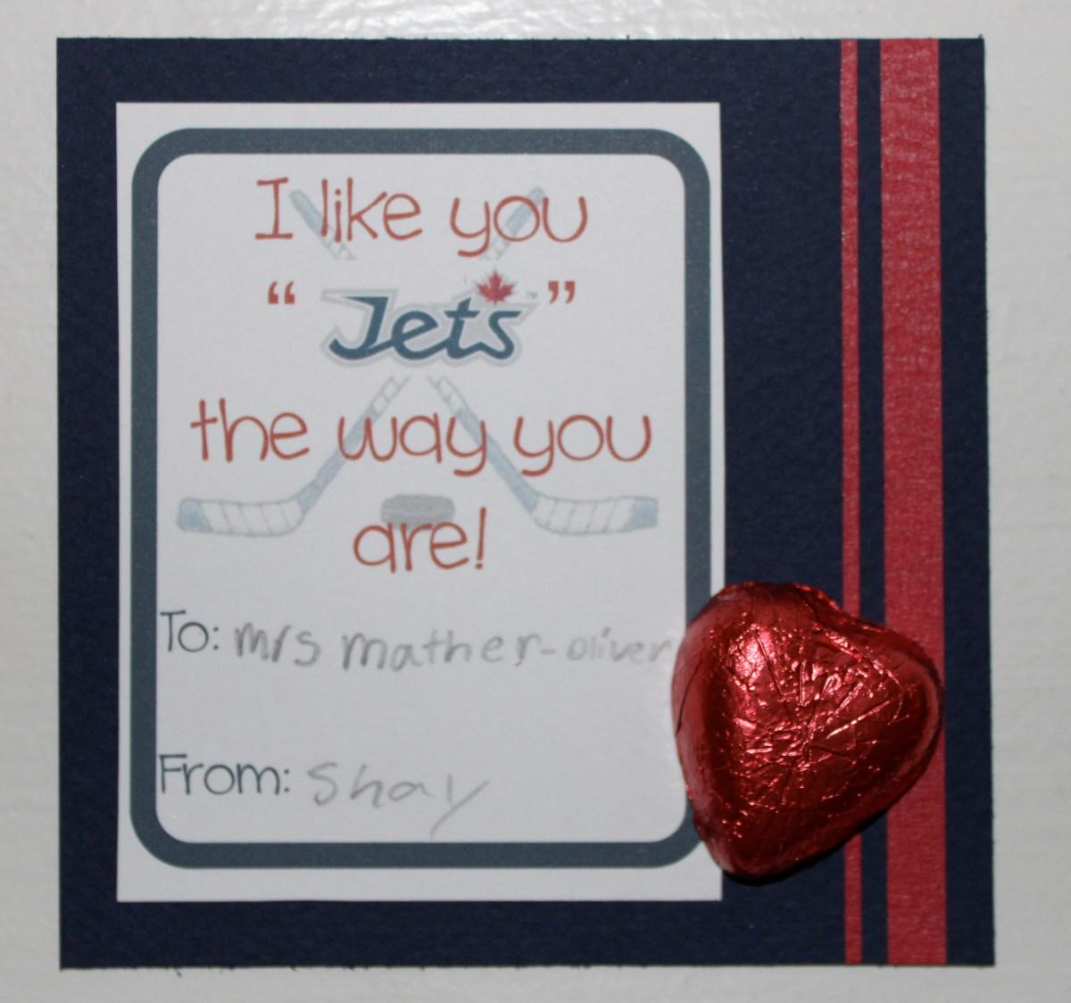 Winnipeg Jets Valentine