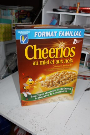 Upcycled Cereal Box
