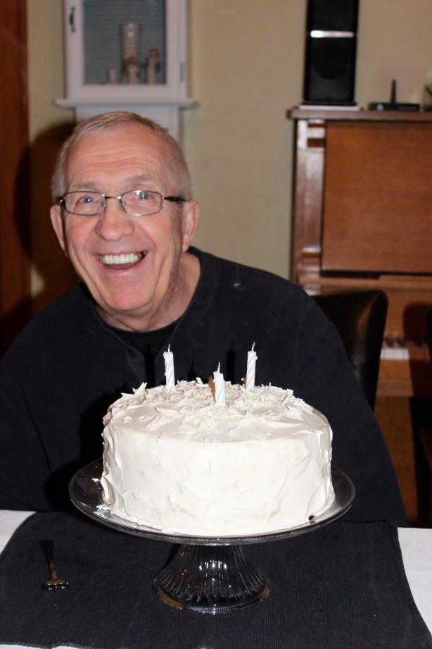Happy 78th birthday, Dad!