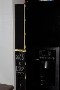 Pull-out spice rack and shelf
