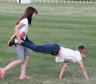 3-legged race