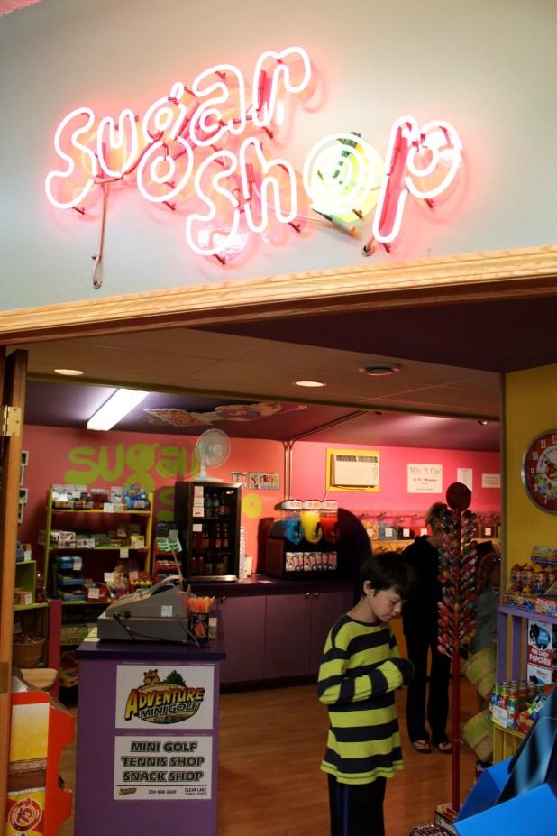 Sugar shop