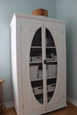 Refinished wardrobe