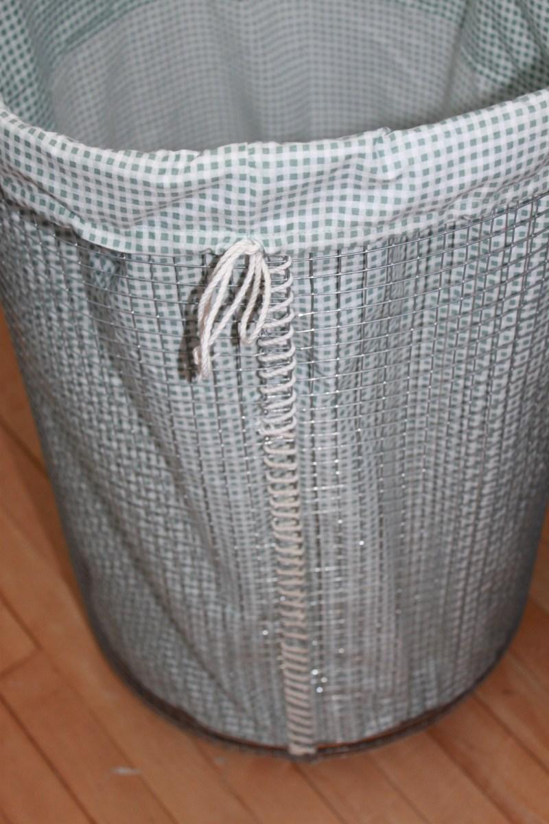 DIY Rolling Laundry Hamper
