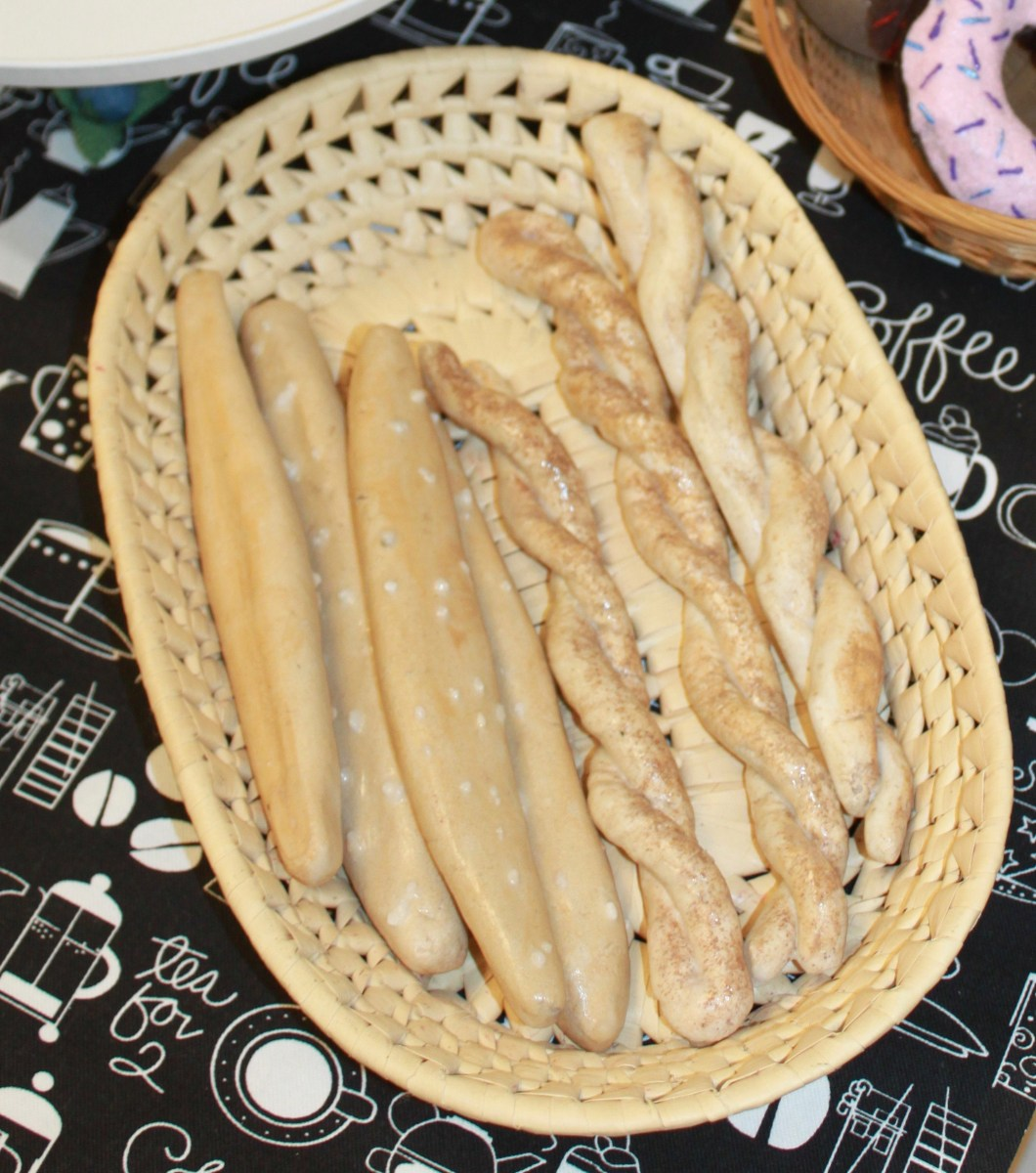 Salt Dough Bread Sticks