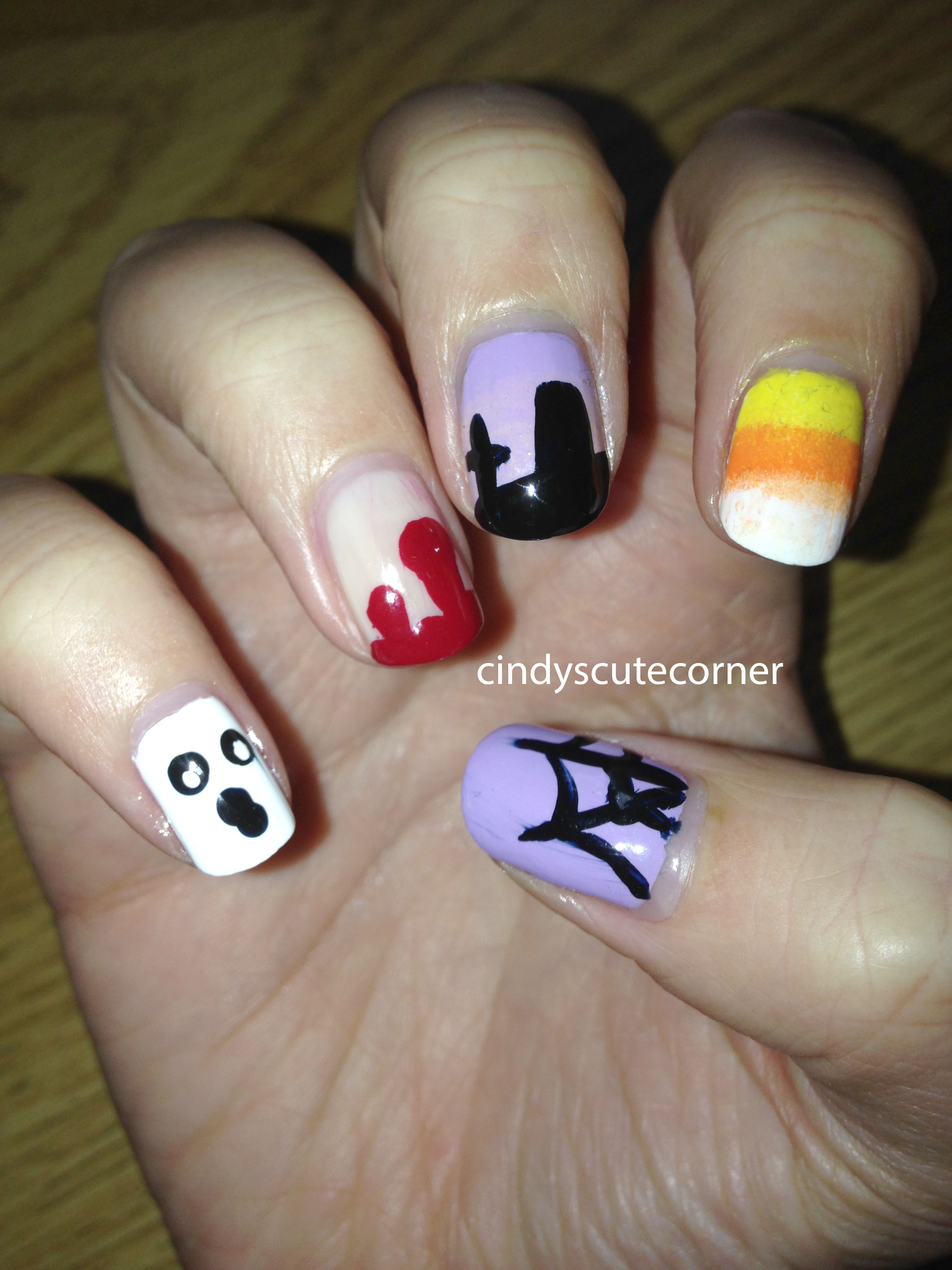 the ultimate halloween nails guide - cindy's cute corner