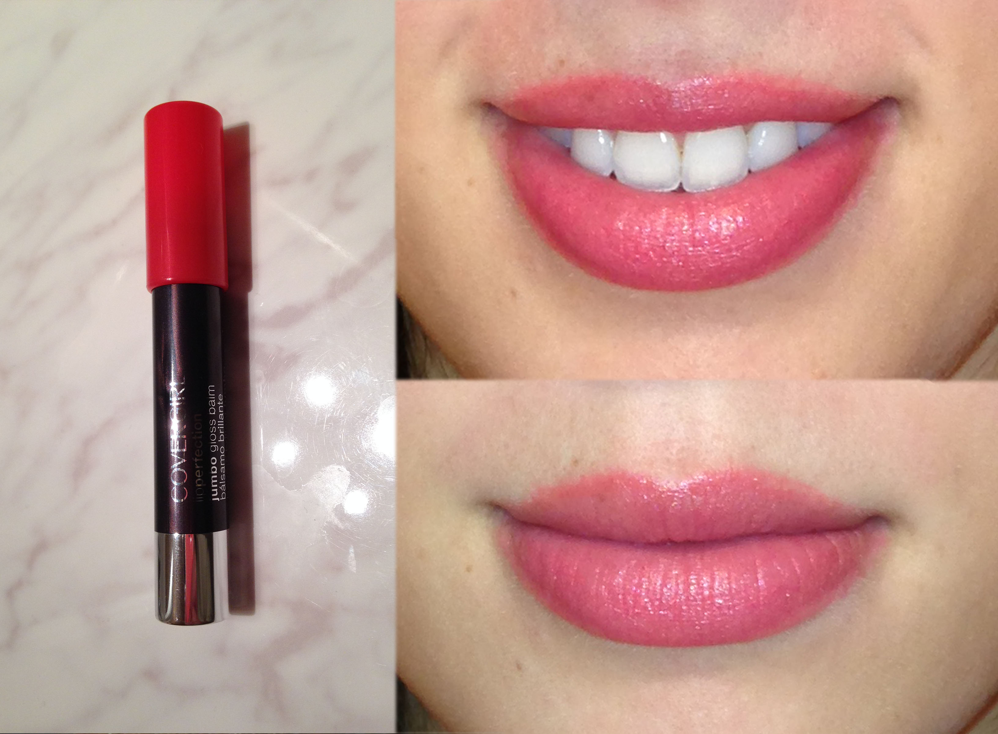 COVERGIRL Jumbo Gloss Balm Coral Twist Review