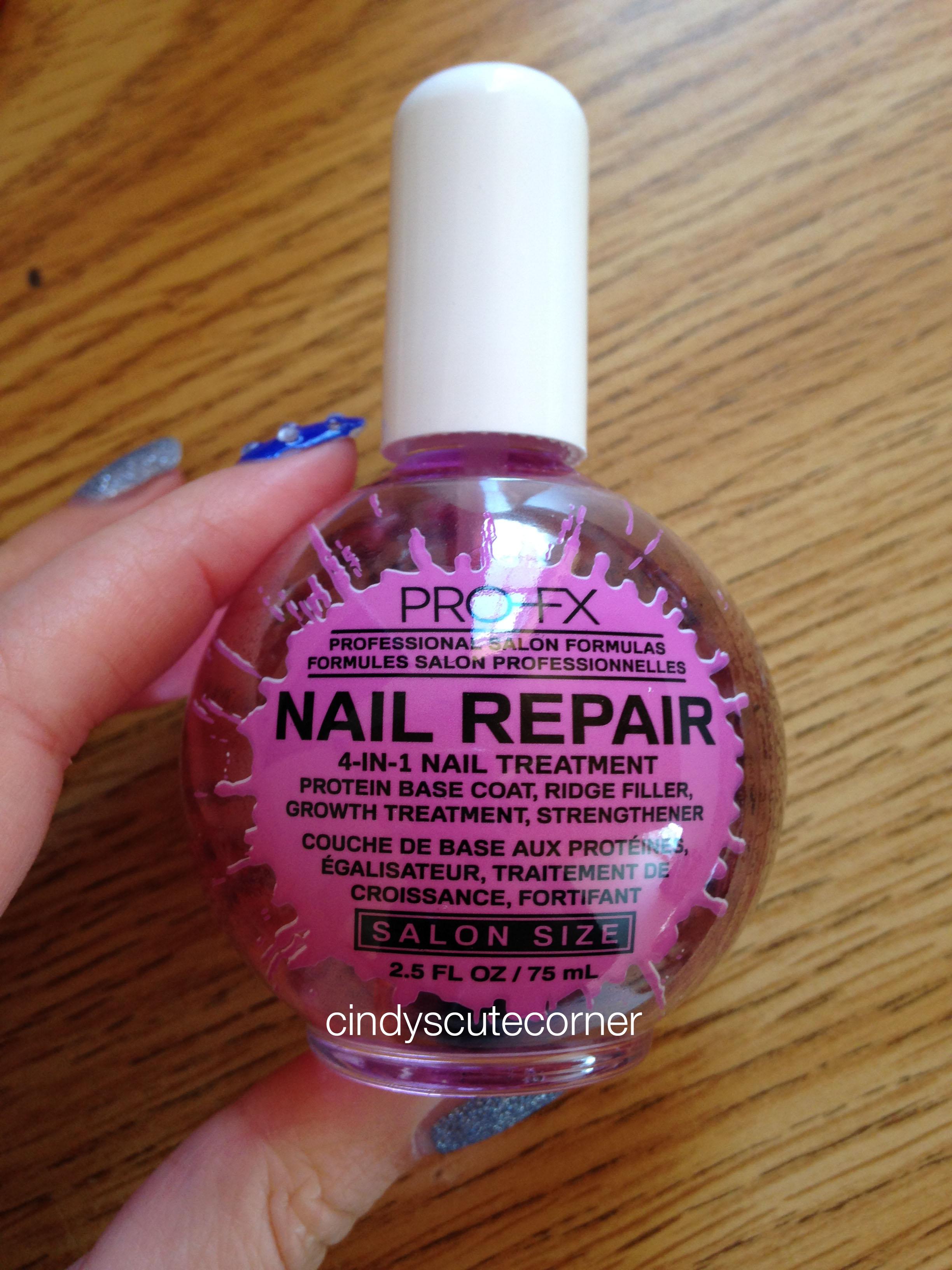 PRO-FX Nail Repair Polish - Cindy\'s Cute Corner