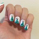 Christmas Tree Nails