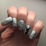 Holo Reindeer Nails