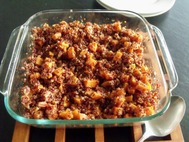Sweet Potato and Quinoa Casserole