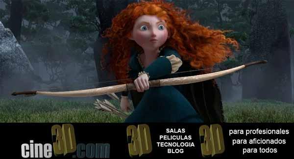 Imagen de Brave, última producción de Disney/Pixar (c) 2012