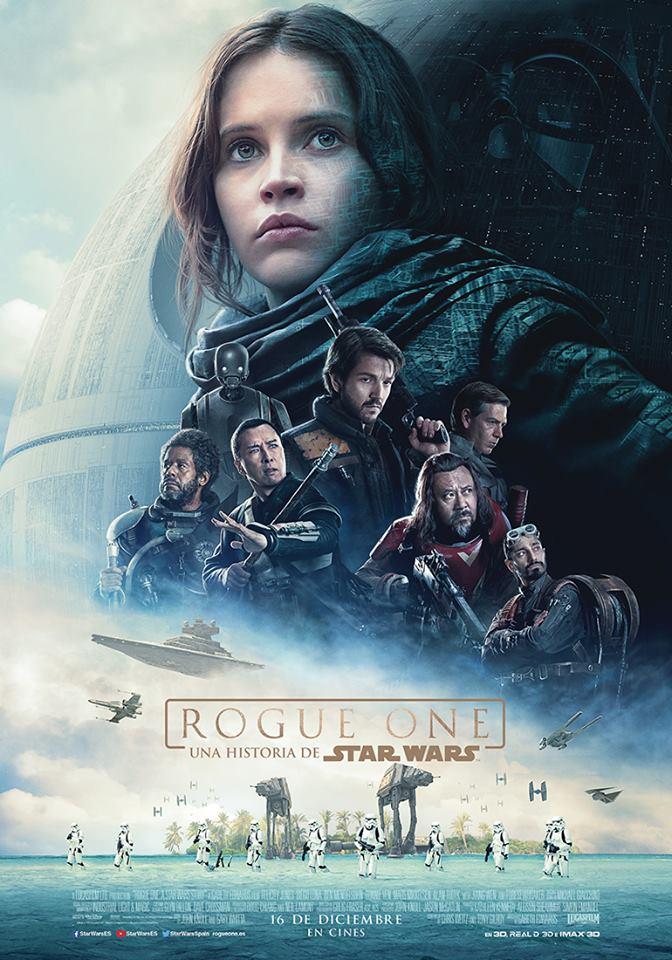 Tráiler y póster final de Rogue One: Una Historia de Star Wars