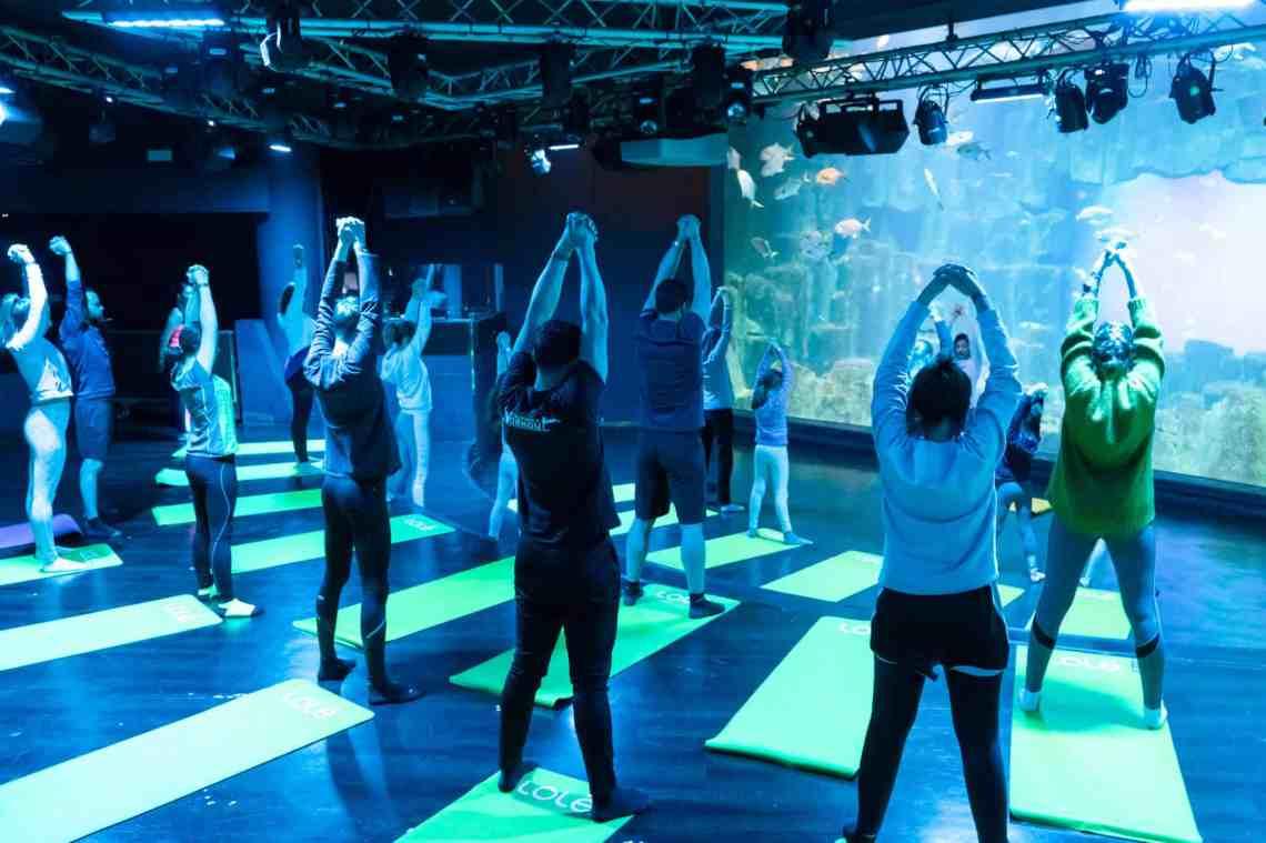 YogAquarium - Yoga à l'Aquarium de Paris