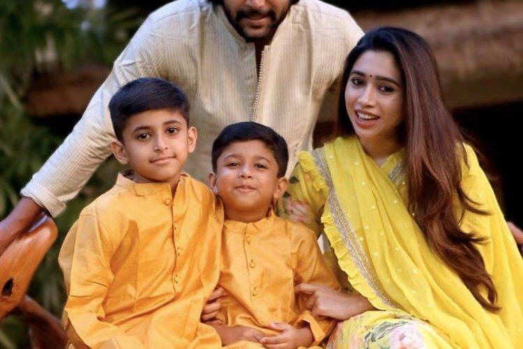 Jayam Ravi Family Stills