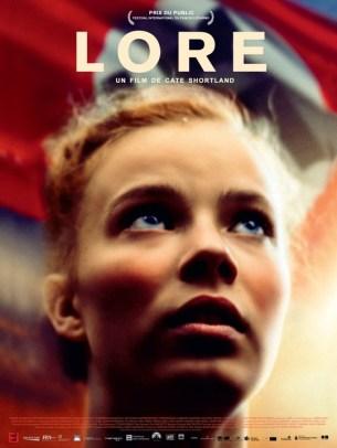 En 1945, à la fin de la guerre, Lore, une jeune adolescente, fille d'un haut dignitaire nazi, traverse l'Allemagne avec ses frères et soeurs. Livrés à eux-mêmes, au milieu du chaos, leur chemin croise celui de Thomas, un jeune rescapé juif. Pour survivre, Lore n'a d'autre choix que de faire confiance à celui qu'on lui a toujours désigné comme son ennemi...  Film germano-australien de Cate Shortland, sorti en France le 20/02/2012, avec Saskia Rosendahl, Kai Malina, Nele Trebs, et Hans-jochen Wagner.  LIRE LA CRITIQUE