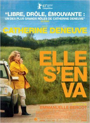 Bettie, la soixantaine, se voit soudain abandonnée par son amant et en péril financier avec le restaurant familial.  Elle prend sa voiture, croyant faire le tour du pâté de maisons mais elle s'échappe.  Au fil de la route , elle fait des rencontres au hasard, un gala d'ex-miss France, renoue avec sa fille, découvre son petit-fils, et peut-être l'amour au bout du voyage...   Film français de Emmanuelle Bercot, sorti en France le 18/09/2013, avec Catherine Deneuve, Claude Gensac, Hafsia Hersi, Gérard Garouste et Mylène Demongeot.  LIRE LA CRITIQUE