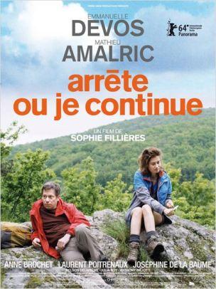 Pomme et Pierre sont ensemble depuis longtemps. Trop longtemps ?  Ils ont l'habitude de longues marches en forêt. Au cours de l'une d'elle, Pomme refuse de rentrer. Juste non. Qu'il lui file le kway, qu'il lui file le pull, qu'il lui file le sac, elle reste…  Elle disparaît dans les taillis. Sans fracas…  Film français de Sophie Fillières, sorti en France le 5 mars 2014, avec Emmanuelle Devos, Mathieu Amalric, Anne Brochet, et Josephine de la Baume.  LIRE LA CRITIQUE