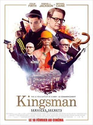 L'élite du renseignement britannique en costumes trois pièces, est à la recherche de sang neuf. Pour recruter leur nouvel agent secret, elle doit faire subir un entrainement de haut vol à de jeunes privilégiés aspirant au job rêvé.  L'un d'eux semble être le candidat « imparfaitement idéal » : un jeune homme impertinent de la banlieue londonienne nommé Eggsy.   Film britannique de Matthew Vaughn, sorti en France le 18 février 2015, avec Colin Firth, Samuel L. Jackson, et Taron Egerton.
