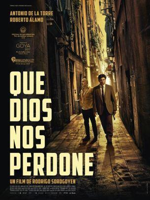 Plongée en pleine crise économique, la ville de Madrid, est confrontée à l'émergence du mouvement des « indignés » l'été 2011 et à la visite imminente du Pape Benoît XVI. C'est dans ce contexte hyper-tendu que l'improbable binôme que forment Alfaro et Velarde se retrouve en charge de l'enquête sur un serial-killer d'un genre bien particulier.  Les deux inspecteurs, sous pression, sont de surcroît contraints d'agir dans la plus grande discrétion…  Film espagnol de Rodrigo Sorogoyen, sorti en France le 9 Août 2017, avec  Antonio de la Torre, Roberto Álamo, Javier Pereira et Raúl Prieto.  LIRE LA CRITIQUE