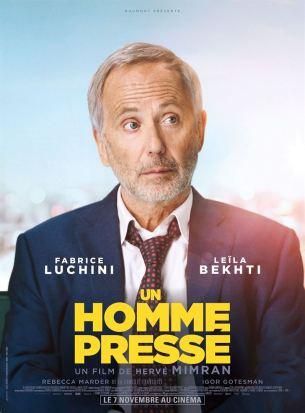 Alain est un homme d'affaires respecté et un orateur brillant. Il court après le temps. Dans sa vie, il n'y a aucune place pour les loisirs ou la famille. Un jour, il est victime d'un accident cérébral qui le stoppe dans sa course et entraîne chez lui de profonds troubles de la parole et de la mémoire.  Film français de Hervé Mimran, sorti en France le 7 novembre 2018, avec Fabrice Luchini, Leïla Bekhti, et Rebecca Marder.  LIRE LA CRITIQUE