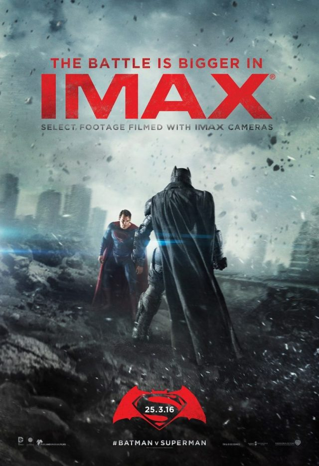 Batman v Superman Dawn of Justice IMAX poster - Imgur
