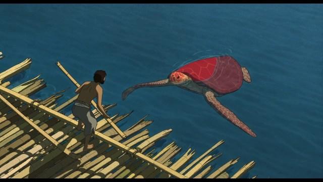 la tortuga roja