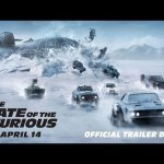 Segundo trailer de THE FATE OF THE FURIOUS con Diesel, Theron, Johnson, Statham, Rodriguez, Russel, Ludacris, Pataky…