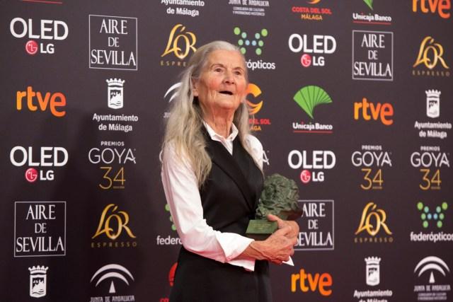 Goya 2020: Benedicta Sánchez