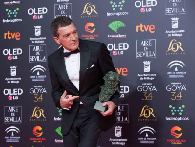 Premiados de Los Goya 2020: Antonio Banderas