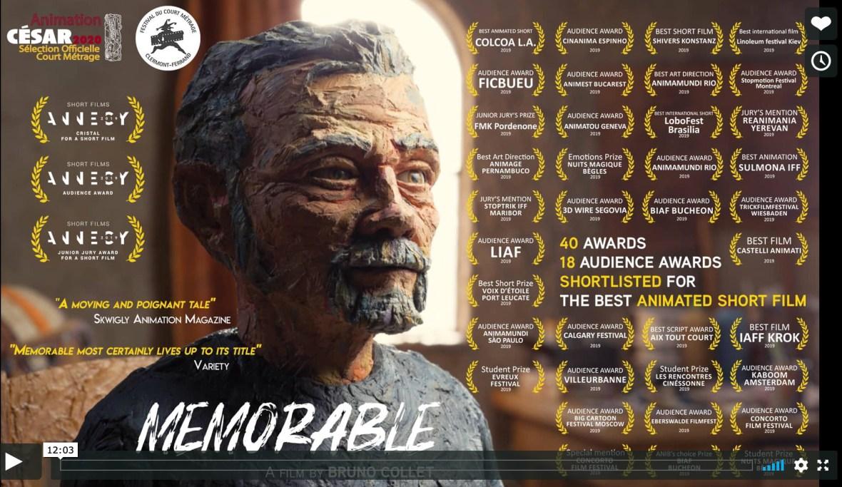 Cortometrajes nominados a los Oscars 2020