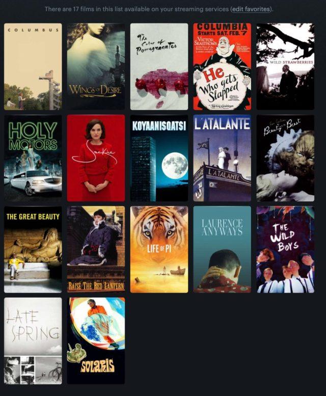 Películas poéticas que ver en streaming