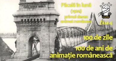 100 de ani – Ziua 4 din 100 de zile de animație românească – Păcală în lună (1920)
