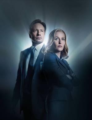 X files Mulder og Scully 2016