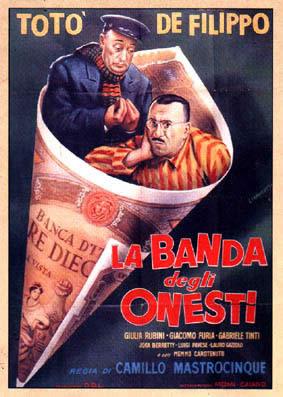 La Banda degli Onesti poster