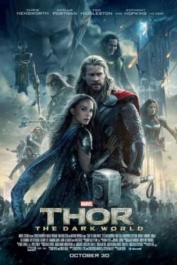 thor the dark world recensione poster
