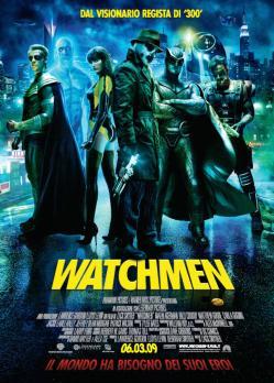 Watchmen recensione poster