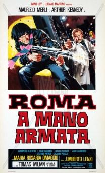 Roma a Mano armata recensione poster